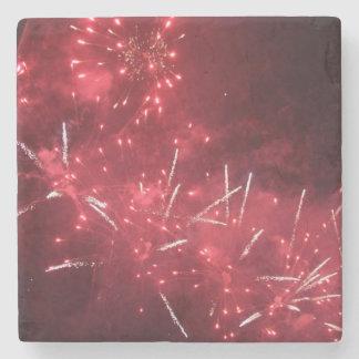 Porta-copo De Pedra Portas copos da bebida dos fogos-de-artifício
