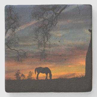 Porta-copo De Pedra Portas copos do sudoeste impressionantes do cavalo