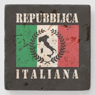 Porta-copo De Pedra Repubblica Italiana
