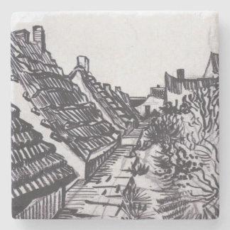 Porta-copo De Pedra Rua em Saintes-Maries por Vincent van Gogh