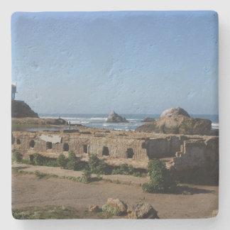 Porta-copo De Pedra Ruínas dos banhos de Sutro - porta copos de San
