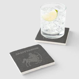 Porta-copo De Pedra Sagitário translúcido