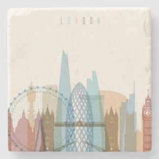 Porta-copo De Pedra Skyline da cidade de Londres, Inglaterra |