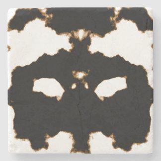 Porta-copo De Pedra Teste de Rorschach de um cartão da mancha da tinta