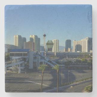 Porta-copo De Pedra Tira de Las Vegas adiante