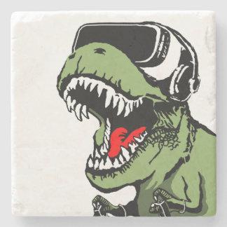 Porta-copo De Pedra VR T-rex
