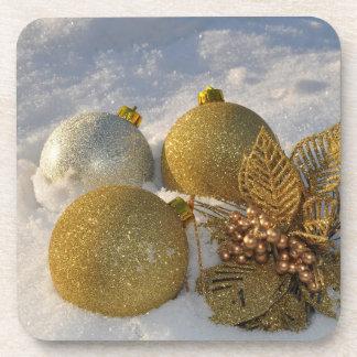 Porta-copo Decorações do brilho na neve