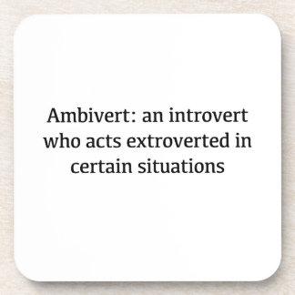 Porta-copo Definição de Ambivert