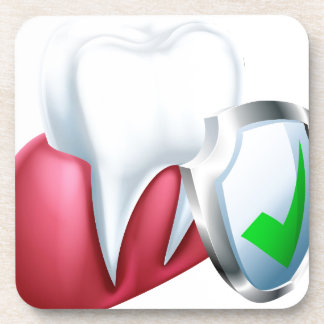 Porta-copo Dente e goma do protetor