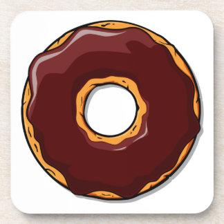 Porta-copo Design da rosquinha do chocolate dos desenhos