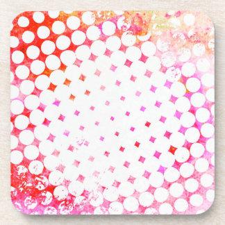 Porta-copo Design de explosão cor-de-rosa da banda desenhada