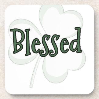 Porta-copo Design do dia de St Patrick abençoado