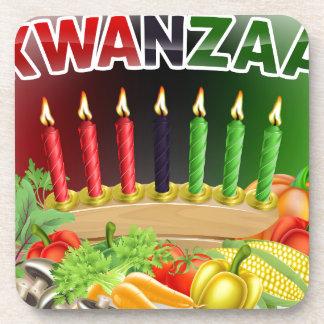 Porta-copo Design feliz da colheita de Kwanzaa primeiro