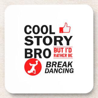 Porta-copo Design legal da dança de ruptura