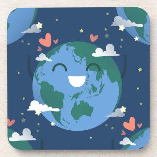 Porta-copo Dia da Terra bonito