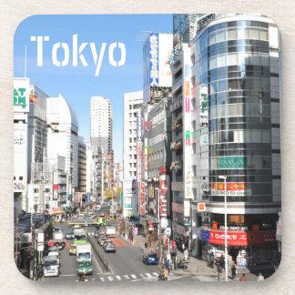 Porta-copo Distrito de Shinjuku em Tokyo, Japão