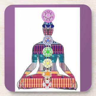Porta-copo DIVERTIMENTO da paz NVN630 da meditação da ioga do