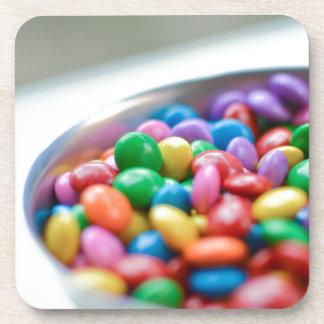 Porta-copo doces coloridos