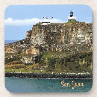 Porta-copo EL Morro que guarda a entrada da baía de San Juan