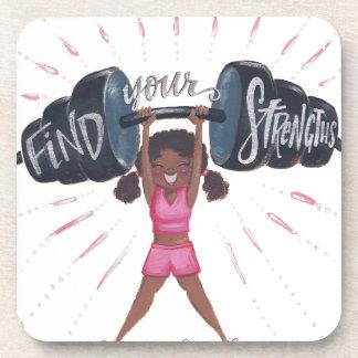 Porta-copo encontre seu fundo do strengths_no