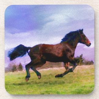 Porta-copo Equestrian ocidental de funcionamento do potro do