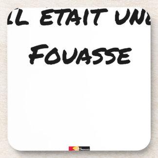 Porta-copo ERA um FOUASSE - Jogos de palavras-François Cidade
