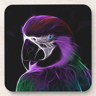 Porta-copo escala do design do fractal do papagaio