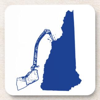 Porta-copo Escalada do gelo de New Hampshire