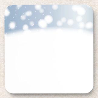 Porta-copo Espaço da cópia da neve