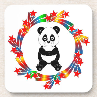 Porta-copo Estrelas da panda