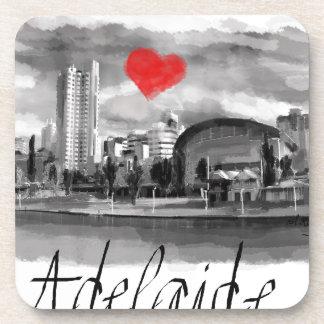 Porta-copo Eu amo Adelaide