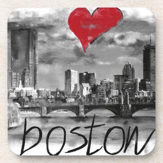 Porta-copo Eu amo Boston
