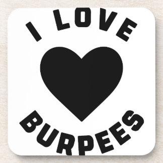 Porta-copo Eu amo Burpees