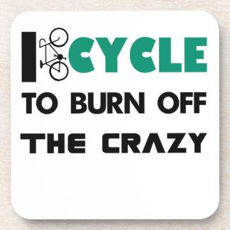 Porta-copo Eu dou um ciclo para consumir a louca, bicicleta