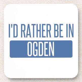 Porta-copo Eu preferencialmente estaria em Ogden