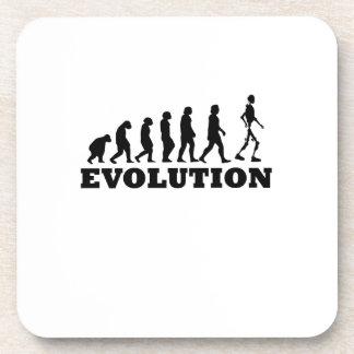 Porta-copo Evolução do robô engraçada