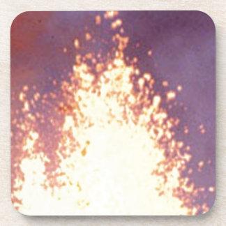 Porta-copo explosão do fogo