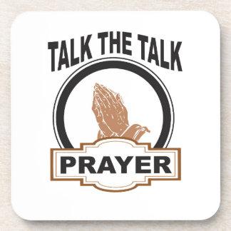 Porta-copo fale a oração da conversa yeah
