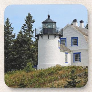 Porta-copo Farol na costa de Maine