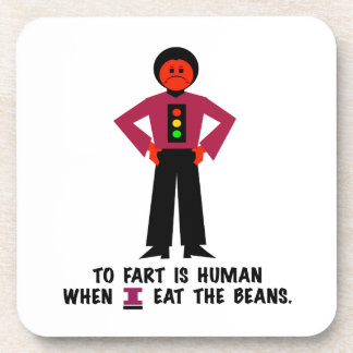 Porta-copo Fart é humano