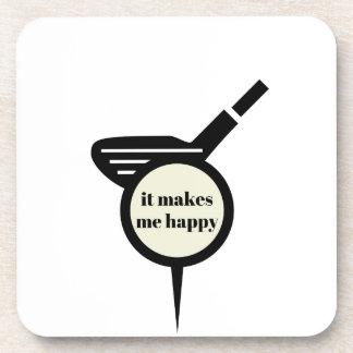 Porta-copo Faz-me a caneca do Feliz-Golfe