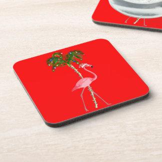 Porta-copo Flamingo do Natal
