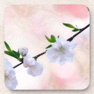 Porta-copo Flor do pêssego