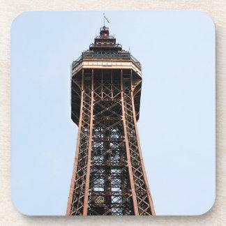 Porta-copo Foto da lembrança da torre de Blackpool