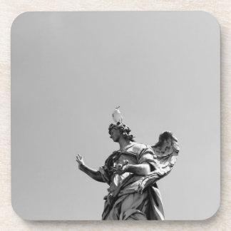 Porta-copo Foto simples, moderna da gaivota sobre a estátua