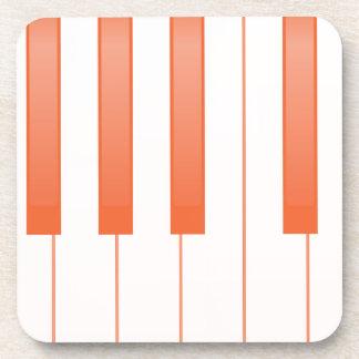 Porta-copo Fundo chave do piano