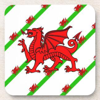 Porta-copo Galês listra a bandeira