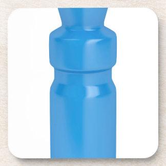 Porta-copo Garrafa plástica azul