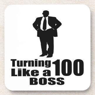 Porta-copo Girando 100 como um chefe