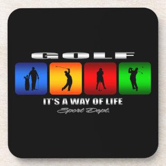 Porta-copo Golfe legal é um modo de vida